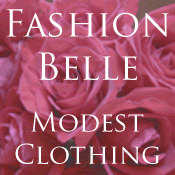 Fashion Belle medium web button