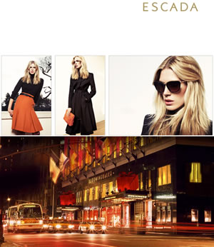 Shopping for Escada at Bloomingdale's New York