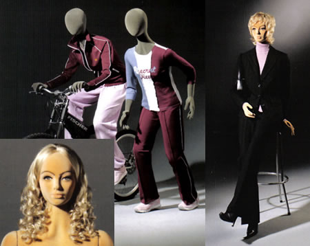 Poly Star Lady flexible foam mannequin from Poly Form