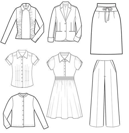 Professional Dress Code Illustrations