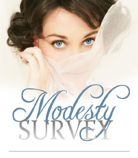 Modesty Survey from the Rebelution site by Alex and Brett Harris