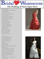 Bridal Warehouse with dresses from the Night Moves, Allure and Bliss modest collections