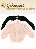 Gehman's Country Fabrics classic, relaxed fit sweaters