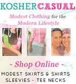 Kosher Casual modest clothing for the modern lifestyle