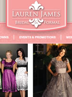 Lauren James Bridal and Formal wear