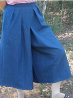 Classic Clothing Store Split Skirts