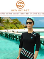 Screenshot of Sea Secret Jewish swimwear