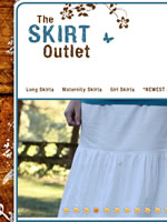 The Skirt Outlet long skirts for girls and regular and maternity women