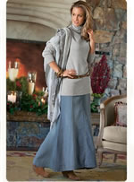 Soft Surroundings long skirts and unique tops