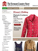 The Vermont Country Store loose-fitting classic clothing for women