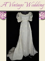 A Vintage Wedding retro gowns