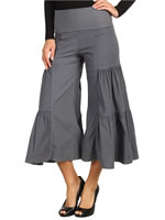 XCVI side tier palazzo pants and cargo gauchos