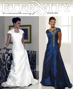 Bridal and formal gowns from Eternity