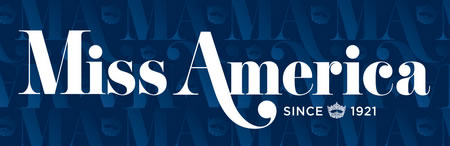 Logo from the Miss America pageant
