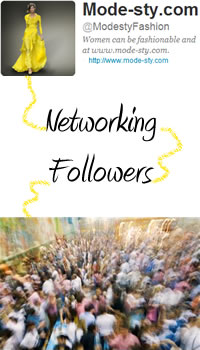Mode-sty networking with a multitude of followers