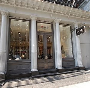 Susan Dell's PHI Collection Storefront in New York City